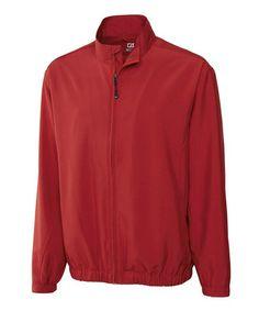 Another great find on #zulily! Cardinal Red WindTec Astute Zip-Up Jacket - Men #zulilyfinds