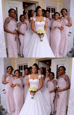 modest pastel mermaid bridesmaid dresses, unique long wedding party dresses with sequins, 2018 simple bridesmaid dresses