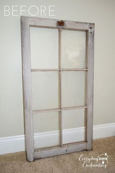 Old Window Ideas :: Sandra Merchant-Comeau's clipboard on Hometalk