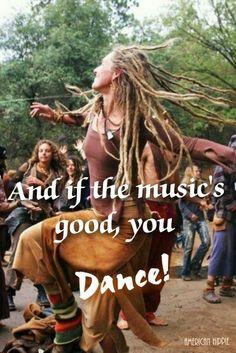 ☮ American Hippie ☮ Dance!