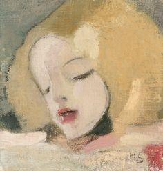 """HELENE SCHJERFBECK, """"Katri"""" ca 1918"""