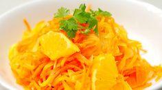 にんじんとオレンジのサラダ:スペイン料理簡単レシピ集