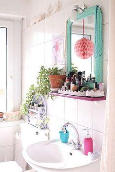 Decoração: Espelho no banheiro   Just Lia