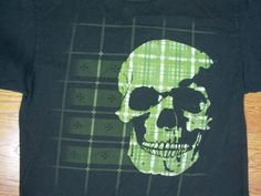 TENSION DISORDER Green Skull T-Shirt size XL #TensionDisorder #GraphicTee