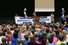 """Northpoint named National Blue Ribbon School ❝This makes the second time in six years that the Penn-Harris-Madison Four Star School has been recognized with this national honor; the first award was given in 2010. Northpoint has a strong track record of maintaining high standards and helping their students achieve academic success. Nationally, Northpoint is ranked #27 (among 70,000 schools) in the 2016 list of """"50 Best American Public Elementary Schools"""" by TheBestSchools.org.❞"""