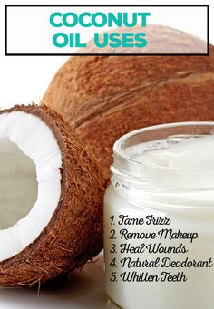 There are so many different coconut oil uses. You can use it for your hair, weight loss, your skin, teeth and more. Try one of these DIY beauty remedies.