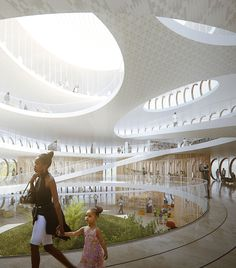 Kwame Nkrumah National Library, Mario Cucinella Architects - BETA