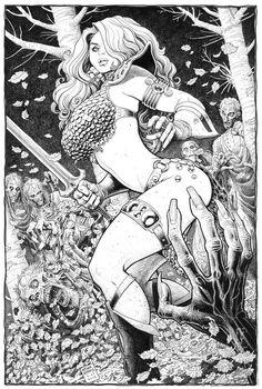Arthur Adams - Red Sonja