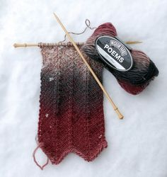 Sunday Swatch in Poems Link includes knit chevron pattern! Crochet Crafts, Knit Crochet, Knitting Stitches, Cold Weather, Holiday Gifts, Swatch, Chevron, Poems, Crochet Patterns