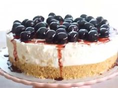 Pasteles de colores: Cheesecake fácil sin hornear