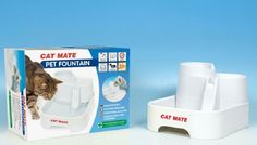 #Pet #Water #Fountain #Filter #Drinking #Dispenser #Cat #Dog #Deluxe #Feeder #Tall #Bowl New FREE UK Delivery!