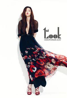 Image: Jun Ji Hyun for 1st Look