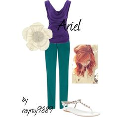 """Ariel"" by raven-ferrel on Polyvore"