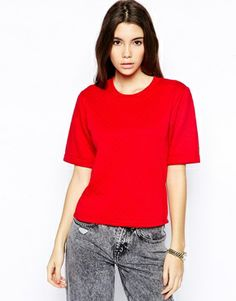 Daisy Street Quilted Cropped Sweater