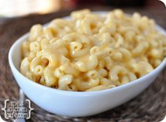 One skillet, creamy mac and cheese!