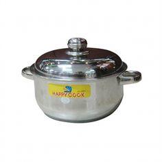 Happycook - Nồi Inox 3 đáy, quai Hollow 20cm - N20-3DHL