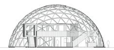 Under konstruktion – står klar sensommeren 2016 på Pier 2, Aarhus   Læs mere om dome 2.0 og 3.0 Tegninger: Kristoffer Tejlgaard Foto: Kristoffer Tejlgaard, Helle Arensbak, Jonath…