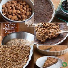 Kuchařka ze Svatojánu: MANDLOVO-ČOKOLÁDOVÝ KOLÁČ Sweet Tooth, Cereal, Breakfast, Food, Morning Coffee, Essen, Meals, Yemek, Breakfast Cereal