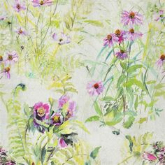 Designers Guild Paysage - peony Fabric