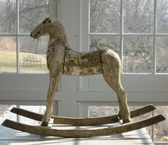 Vintage rocking horse - a gorgeous statement piece