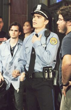 Dave Franco. Omg, and he's in uniform..