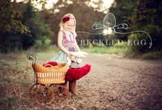 I love how they layered a petticoat underneath a little summer dress!    -Freckled Egg Photography