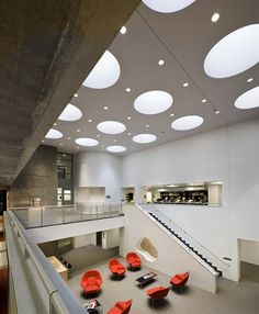 Yale University  Esto Gallery: Gwathmey Siegel & Associates Architects - Architects - Architect Magazine