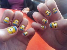 My Despicable Me Nails