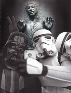 #starwarsmemes Star Wars Jedi, Lego Star Wars, Star Trek, Epic Pictures, Star Wars Pictures, Arte Nerd, Star Wars Decor, Episode Vii, Nerd Humor