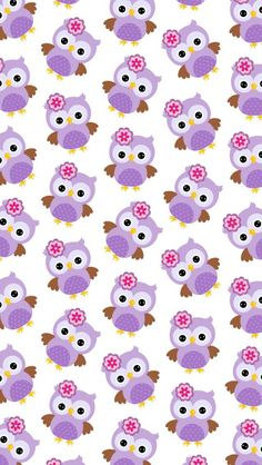 45 Ideas for wallpaper fofos femininos coruja , Cute Owls Wallpaper, Pattern Wallpaper, Wallpaper Backgrounds, Iphone Wallpaper, Wallpaper Fofos, Paper Owls, Owl Art, Baby Owls, Cellphone Wallpaper