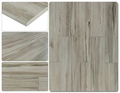 "Salerno Porcelain Tile - Rustic Cariboo Series Gray Oak / 6""x35"""