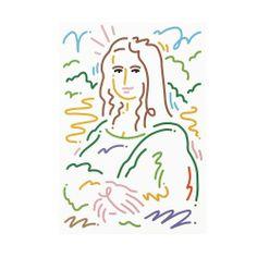 colette JORDY VAN DEN NIEUWENDIJK x COLETTE Set de 5 Cartes Postales