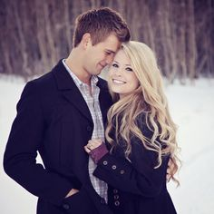 For romantic winter engagement photos you can wrap yourself in a beautiful soft blanket. For fun photos choose different winter games, as sled or skates. Winter Engagement Pictures, Winter Pictures, Engagement Couple, Wedding Engagement, Engagement Shots, Country Engagement, Wedding Pictures, Engagement Outfits, Prom Pictures