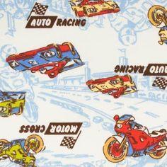 Auto Racing, Cotton Spandex Transportation