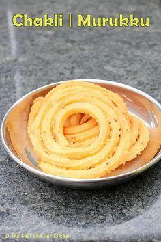 THE CHEF and HER KITCHEN: Easy Chakli Recipe   Mullu Murukku   Diwali Recipes