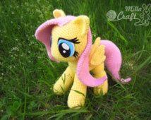 Fluttershy from My Little Pony Crochet Pattern