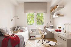 Easy Ways to Design and Decorate a Kids' Room - jihanshanum Leelah, Simple Bedroom Decor, Blue Bedroom, Room Inspiration, Home Office, Kids Room, Sweet Home, New Homes, Interior Design