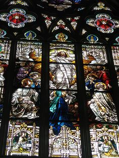 Saint John the Baptist Cathedral stained glass, Savannah, Georgia