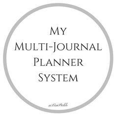 ~My Multi-Journal Planning System~ – ~Lisa Pickle~ Bullet Journal 101, Be True To Yourself, Pickle, Journal Ideas, Spreads, Bujo, Planners, Meant To Be, Journaling