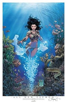All New Fathom # 1 Cover D 2017 Limited Print - W.B.