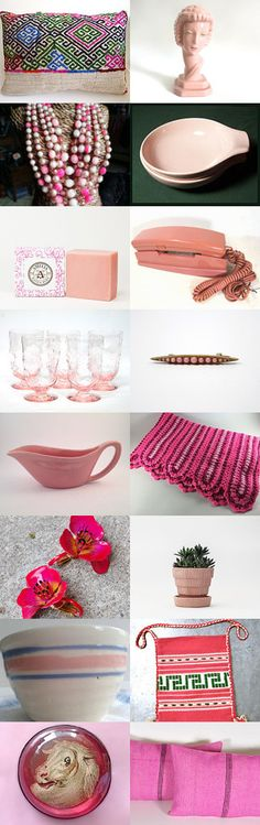 Just Pink  by Florence Olive on Etsy--Pinned with TreasuryPin.com
