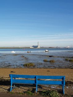 A view of the river Medway from The Strand , Gillingham, Kent