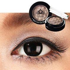 Lioele Real Color Eyeshadow 26 Grey Choco - L-p-126 - Lioele Eye Makeup - Lioele Point Makeup - Korean