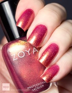 Zoya nail polish, color Tinsley from the Summer 2013 Irresistible Collection