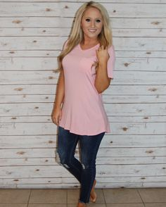 Bright spring color in your favorite Piko brand top! 🌸 Piko- $20, free shipping! Jeans- $36, free shipping! #champagnewishes www.champagnewishesbtq.com