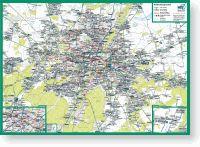 Bildlink Verkehrslinienplan Stadt