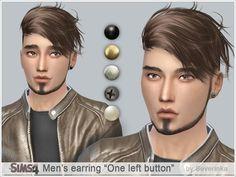 Severinka_'s Men's earring One left button