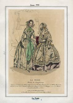 La Mode June 1842 LAPL