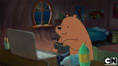 Find GIFs with the latest and newest hashtags! Search, discover and share your favorite We Bare Bears GIFs. The best GIFs are on GIPHY. Bear Cartoon, Cartoon Memes, Cartoons, Bear Wallpaper, Cartoon Wallpaper, Cartoon Profile Pictures, Best Funny Pictures, Bear Tumblr, Bear Gif