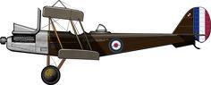 RAF (Royal Aircraft Factory) RE.8 de lafuerza aérea británicaen Irak, 1919. A pesar de estar incluido en el catálogo de peores aviones de la historia, el RE.8 se fabricó por millares y se …